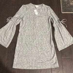 New grey cotton dress from The Loft
